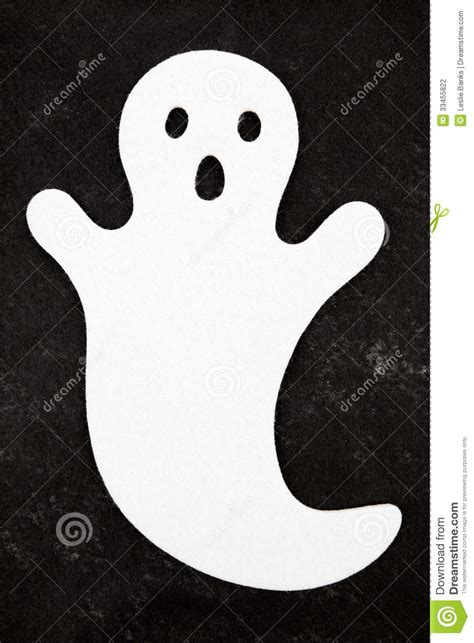 white ghost  black background stock photography image