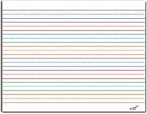 8 Best Images of Printable Lined Writing Paper Landscape ...