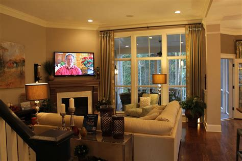 interior design family room corner fireplace fab living