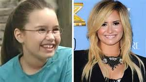 Barney Demi Lovato Then and Now
