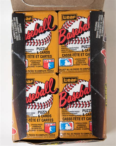 In the spring of 1987, collectors hoping to complete all that year's baseball card sets were confronted with a stark reality — you couldn't find 1987 donruss or fleer cards anywhere. Lot Detail - 1987 Donruss Leaf Unopened Baseball Card Box
