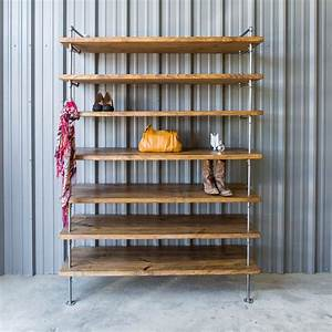 Hand, Crafted, Industrial, Closet, Pipe, Shelving, Shoe, Shelves, By, Industrial, Envy, Llc