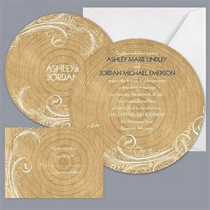 rustic brown gold invitations by david39s bridal With rustic wedding invitations david s bridal