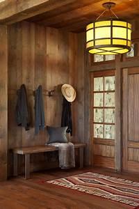 Beautiful Rustic Mud Wood Interior Designs | Decohoms  Rustic