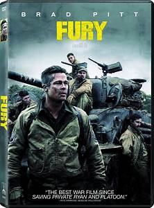 Fury DVD Release Date January 27, 2015