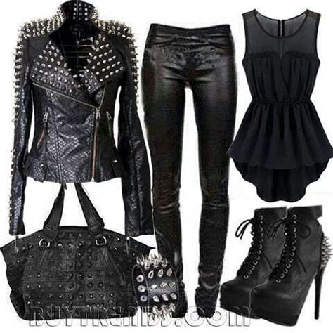 125 best images about Leather Jackets/Outfits on Pinterest | Long white shirt Boots and Fall ...