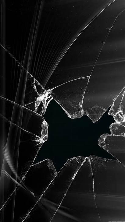 Broken Screen Computer Apple Cracked Lock Iphone