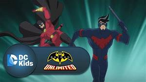 Nightwing and Red Robin vs. Silverback | Batman Unlimited ...