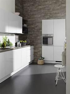 Küche Weiß Hochglanz Grifflos : k chenzeile grifflos wei hochglanz ~ Eleganceandgraceweddings.com Haus und Dekorationen