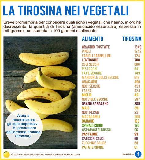 alimenti ricchi di tirosina la tirosina nei vegetali alimentazione rimedi per la