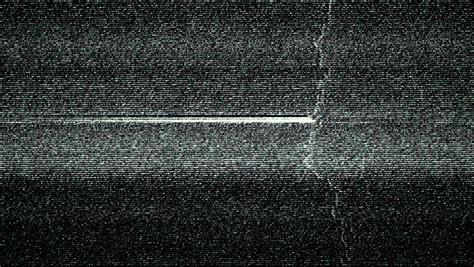 stock video  damaged tv static distortion background