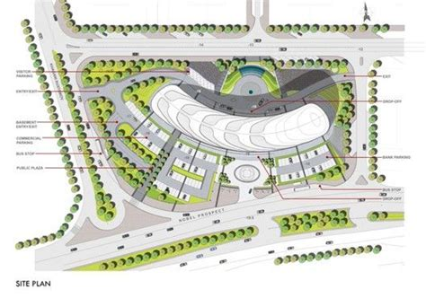 baku white city office building proposal adec