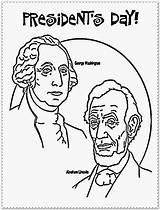 Coloring Presidents Lincoln Printable Abraham President Kindergarten Sheet Getcolorings sketch template