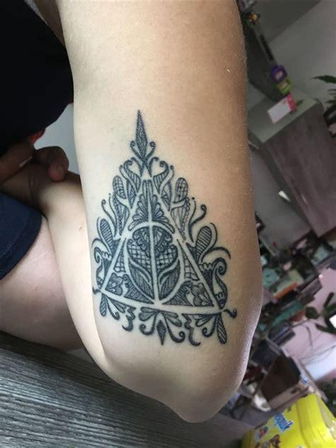 Tatouage Harry Potter Reliques De La Mort
