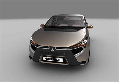 2019 Mitsubishi Galant by 2018 2019 Mitsubishi Komorebi Concept Future Lancer And