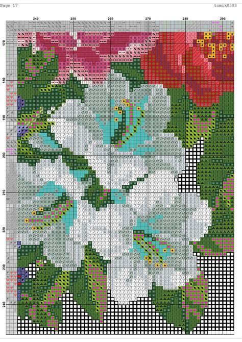 cross stitch pattern retro bag diy  ideas