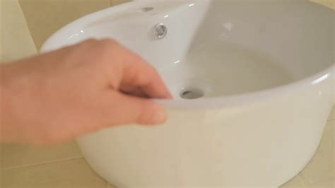 how to repair a cracked sink cracked porcelain sink repair or youtube