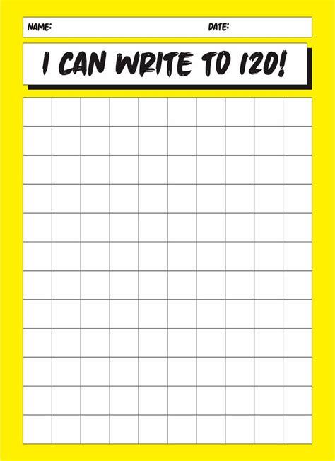 6 Best Printable Blank Chart 1 120 - printablee.com