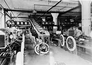 14. Januar 1914 – Henry Ford führt das Fließband ein ...