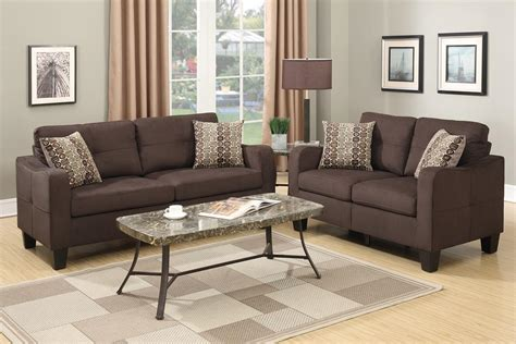 Interior Sofa Set by Brown Fabric Sofa And Loveseat Set A Sofa