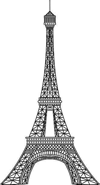 eiffel tower clip art vector images illustrations istock