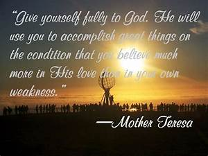 Serenity Quotes From Mother Teresa. QuotesGram