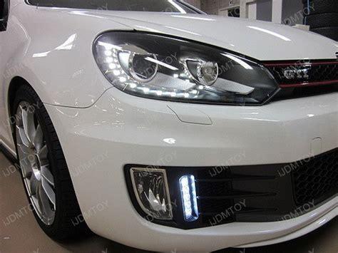 mk6 gti lights volkswagen mk6 gti led drl ijdmtoy for automotive