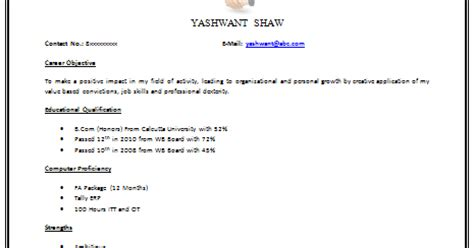 Value Based Resume by 10000 Cv And Resume Sles With Free Best