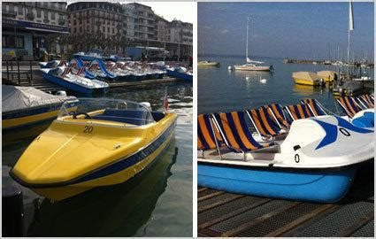 Pedal Boat Zurich by Pedal Boat Or Motor Boat Rentals With Les Corsaires