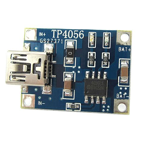tp   lipo battery charging board charger module lithium battery diy mini usb interface