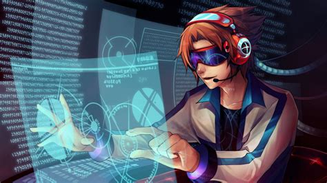 anime hackers hackers wallpaper hd by pcbots part iv pcbots labs