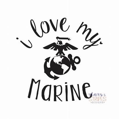 Marine Decal Usmc Hero Mom Wife Girlfriend
