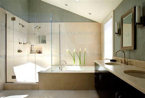 luxury bathroom trends stone tile steals  show