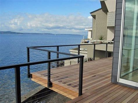 cable deck railing cost 38 edgy cable railing ideas for indoors and outdoors digsdigs