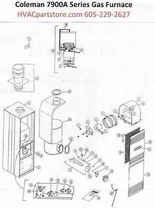 7966a856 Coleman Gas Furnace Parts  U2013 Hvacpartstore