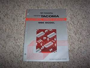 1998 Toyota Tacoma Truck Electrical Wiring Diagram Manual