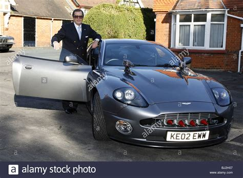 roger moore die another day sir roger moore with the aston martin vanquish from the