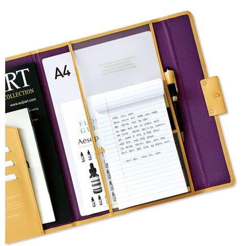 Resume Binder by 1000 Ideas About Leather 3 Ring Binder On