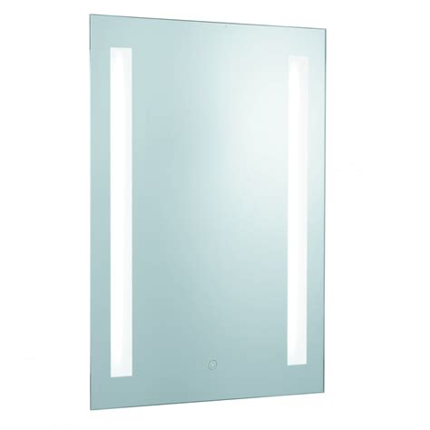 Bathroom Mirror Light Shaver Socket by Searchlight Lighting Illuminated 2 Light Touch Bathroom