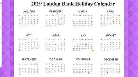 london bank holiday calendar   holidays