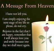 Happy Birthday Message From Heaven