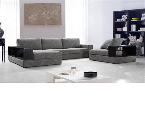 casa chaise dreamfurniture com divani casa anthem modern fabric