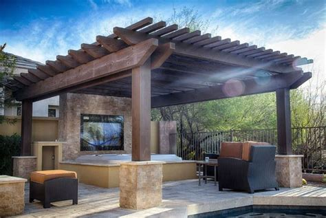 In that case, here are the things that you must look for in the best hot tub gazebo. 20 Decent Outdoor Winter Hot Tub Design Ideas - Talkdecor