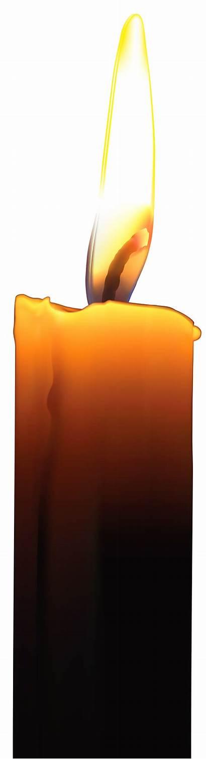 Candle Clip Memorial Clipart Transparent Rose Candles