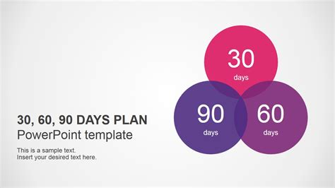 30 60 90 day template 30 60 90 days plan powerpoint template slidemodel