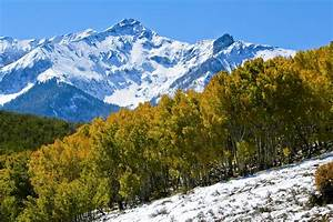 Aspens and sharp peaks are found in quintessential Rocky ...