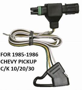 1985 K 10  20  30 Trailer Hitch Wiring
