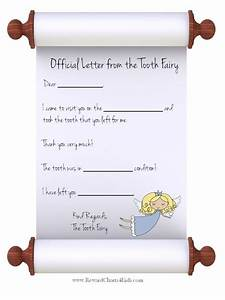 free coloring pages of tooth fairy letter With letter from the tooth fairy template