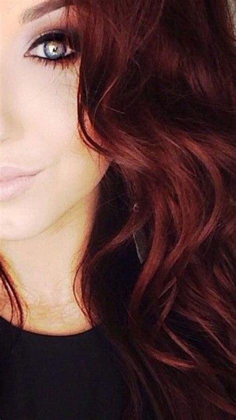 dark mahogany red hair color     favorites