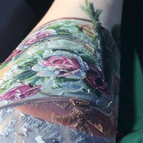 tattoo scabbing   normal authoritytattoo